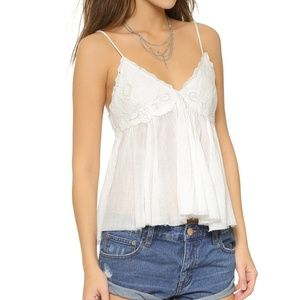 Free People | White Birds in the Sky Top